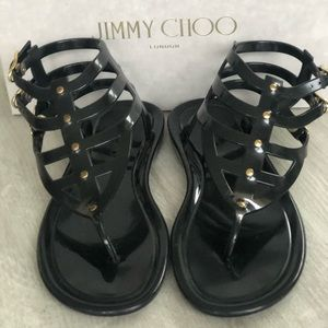 Jimmy Choo jelly sandals